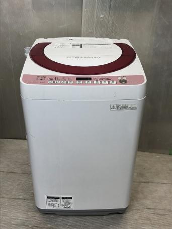 SHARP シャープ 全自動洗濯機 ES-KS70P-P