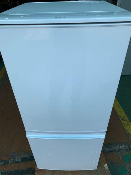 シャープ SHARP 冷凍冷蔵庫 SJ-D14A-W