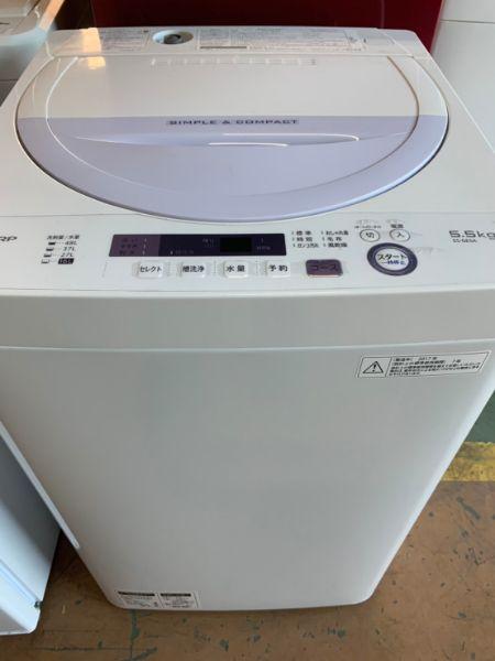 SHARP 全自動電気洗濯機 ES-GE5A-V 5.5kg
