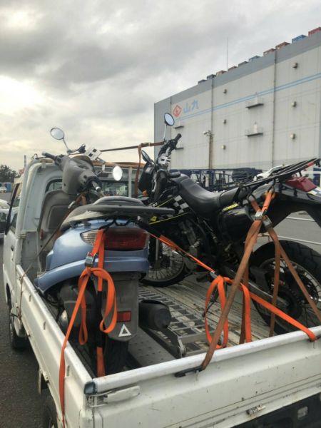 放置原付バイク無料回収|青葉区