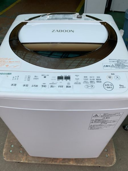 東芝 全自動洗濯機 AW-6D6