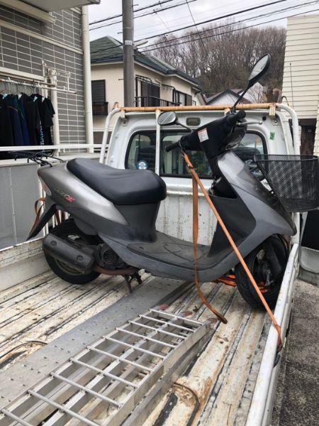 放置原付バイク無料回収 世田谷区