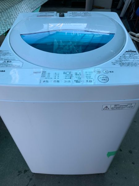 TOSHIBA 東芝 全自動洗濯機 AW-5G5