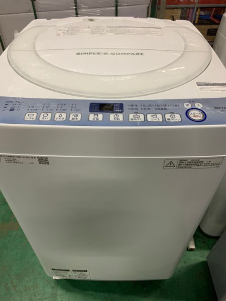 シャープ SHARP ES-T711-W 全自動洗濯機