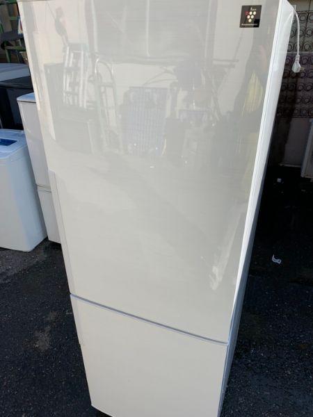 シャープ SJ-PD27C-W ノンフロン冷凍冷蔵庫