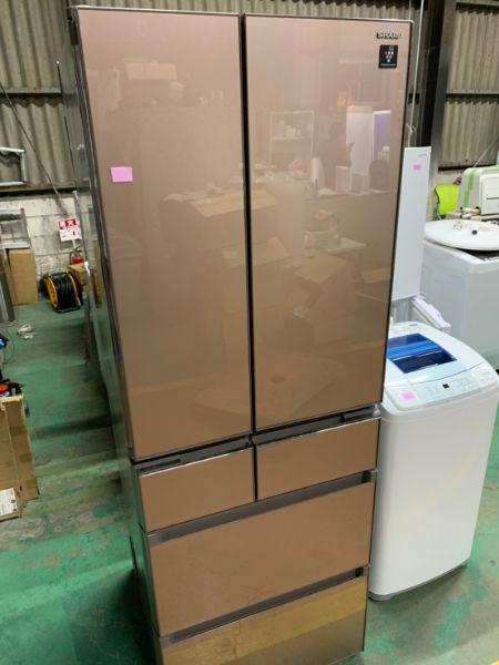 SHARP シャープ SJ-GS46C-T 6ドア 455L 冷凍冷蔵庫