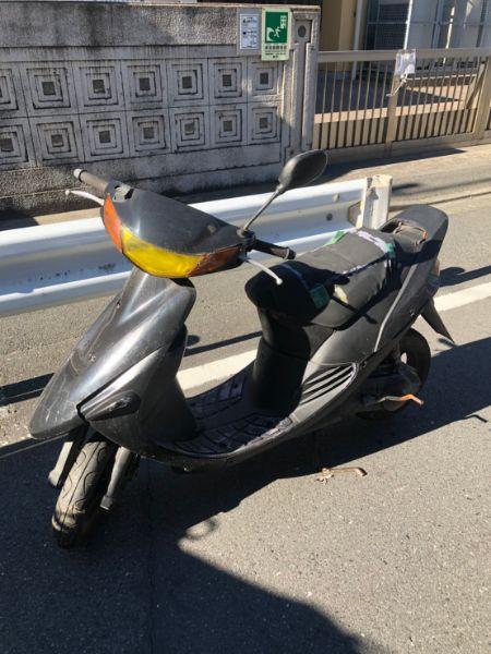 放置原付バイク無料回収
