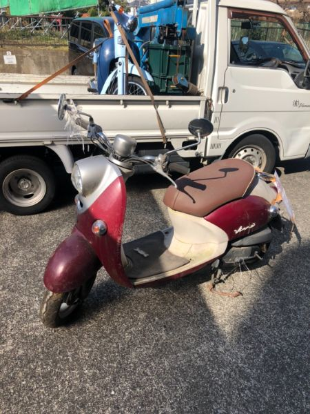 放置原付バイク無料回収|川崎区