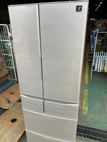 SHARP 冷凍冷蔵庫 455L SJ-F462D-S