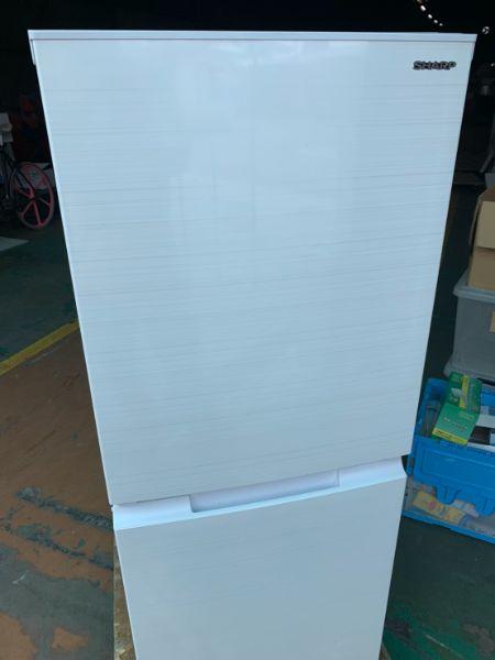 シャープノンフロン 2ドア冷凍冷蔵庫 SJ-D15G-W