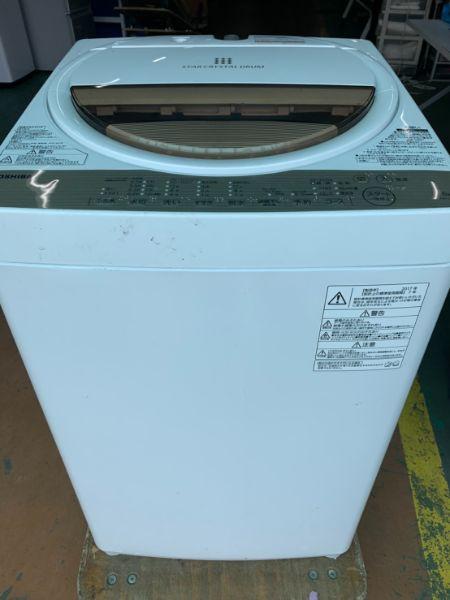 東芝 TOSHIBA 洗濯機 6.0kg AW-6G5