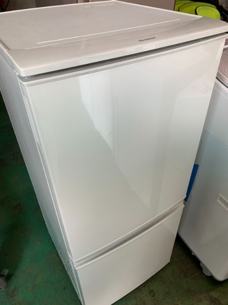 SHARP ノンフロン冷凍冷蔵庫 SJ-D14B-S