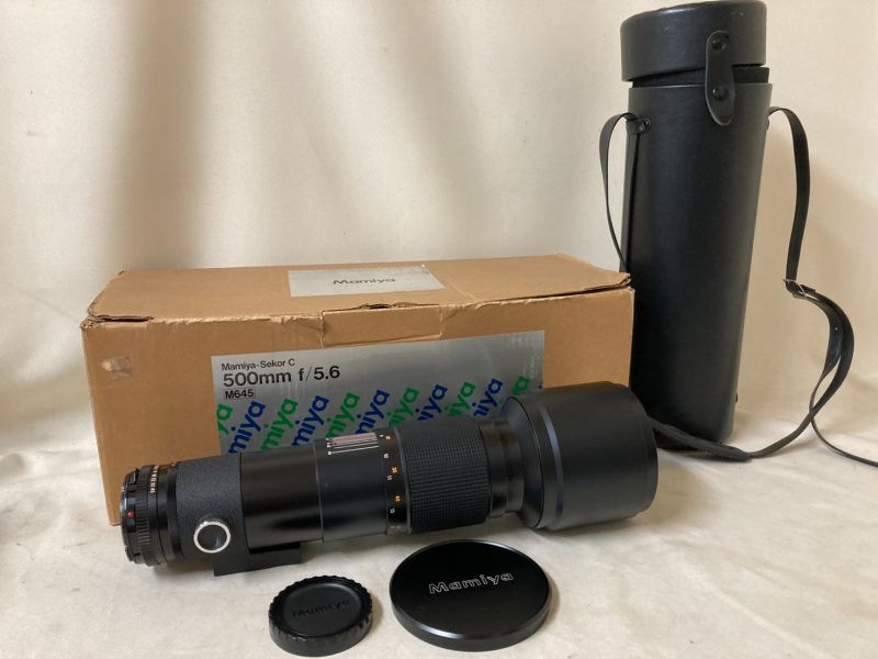 MAMIYA SEKOR C 500mm F/5.6 マミヤ レンズ ジャンク扱い品